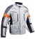 Chaqueta de moto Jet Grey and Silver